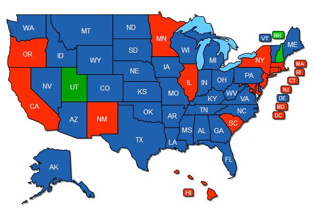 utah states